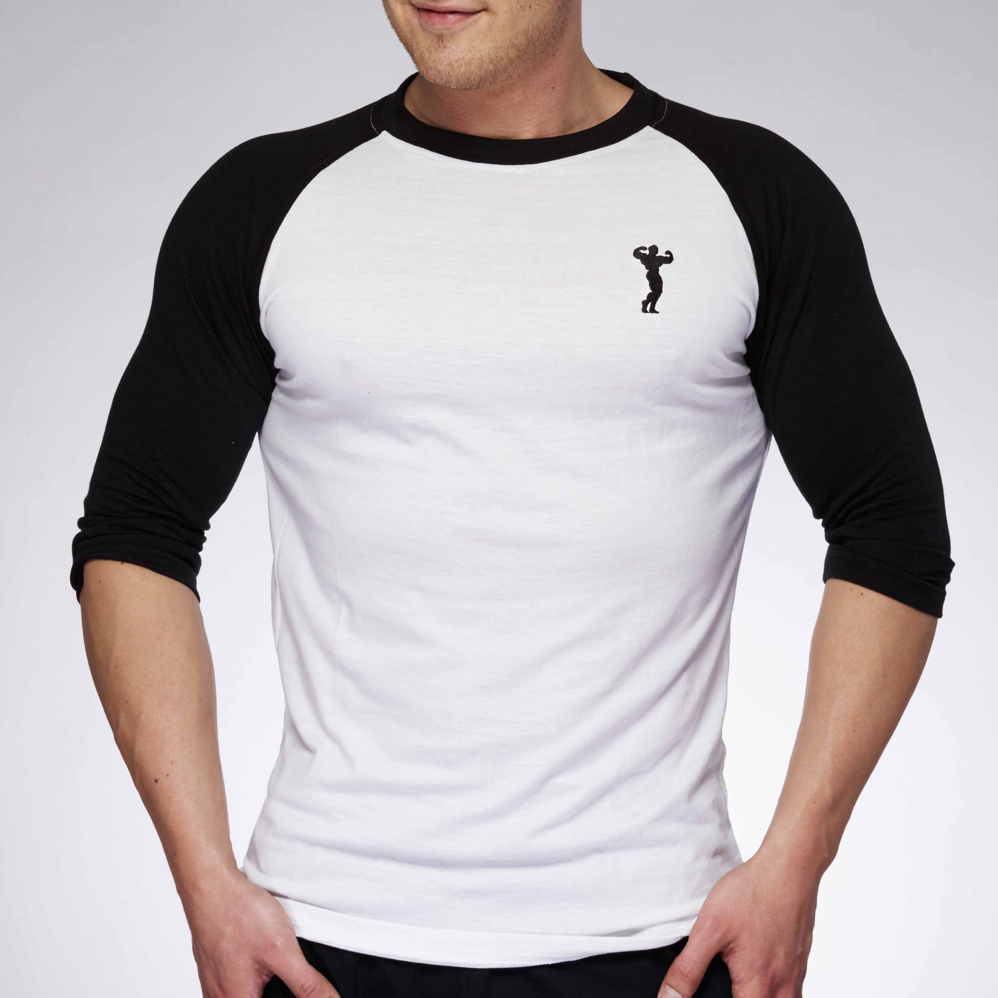 MEN BASEBALL JERSEY WHITE/BLACK | XXL GRIP