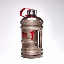 MEN WATER JUG 2.2 LITER BLACK/RED | XXL GRIP